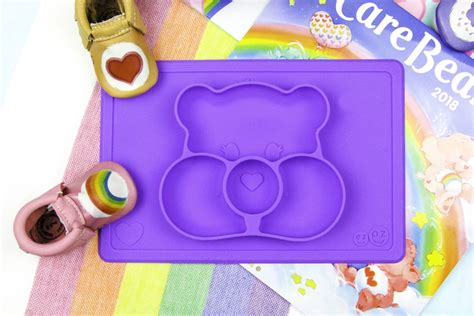 Ezpz Care Bears Mat In Teal the best care bears baby products for new brite