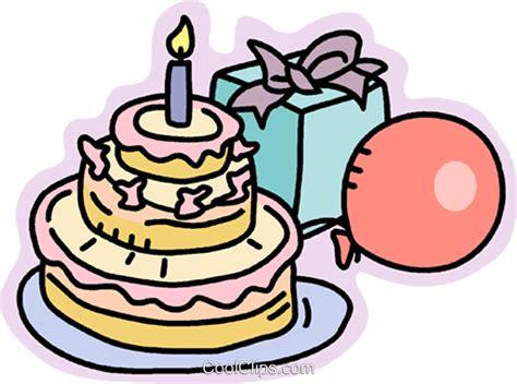 torta clipart torta di compleanno regali e palloncini immagini grafiche