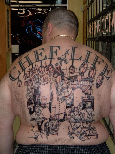 culinary tattoos chef inspired by tupacs quot thug quot