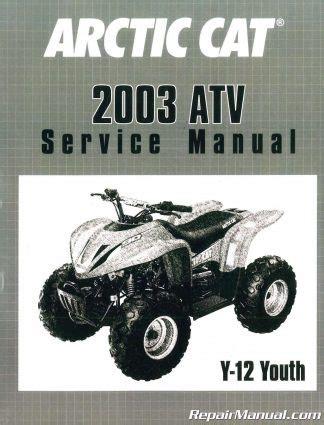 2004 Arctic Cat 90 Atv Service Manual