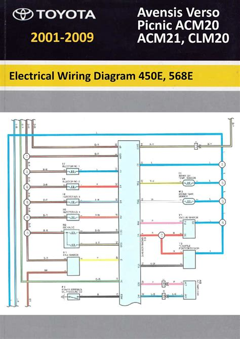 toyota avensis verso wiring diagram wiring diagram and