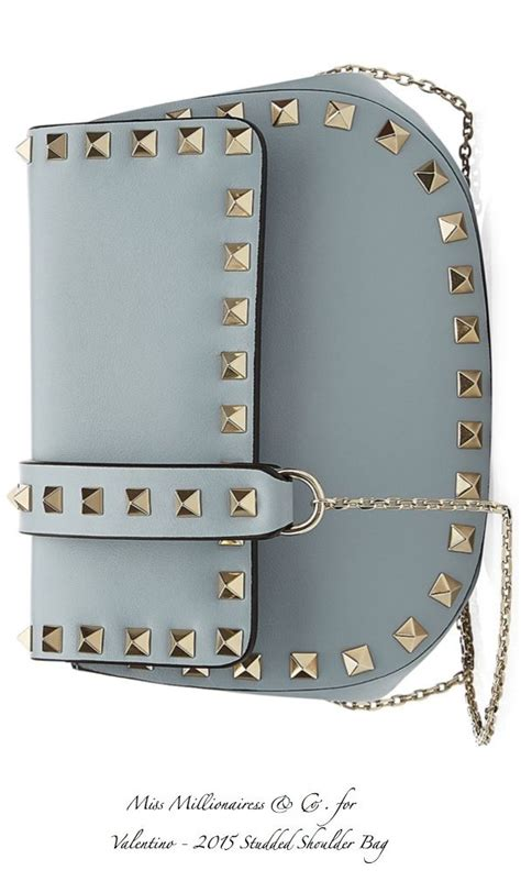 Lius Valentino Purse by Valentino Studded Shoulder Bag 2015 Accessories Show