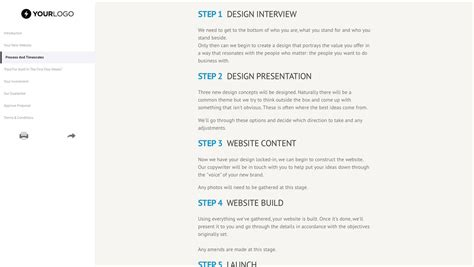 Website Design Document Template by Free Website Design Template Better