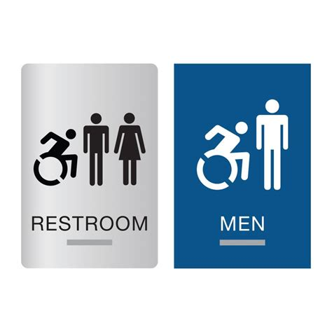 ada bathroom sign new york ada restroom signs new york braille bathroom signs