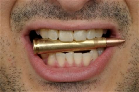 Biting The Bullet bite the bullet