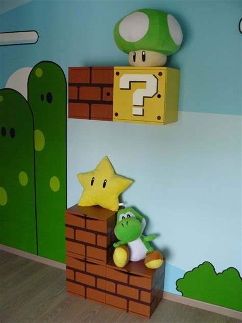 super mario bedroom decor super mario themed room design home design jobs