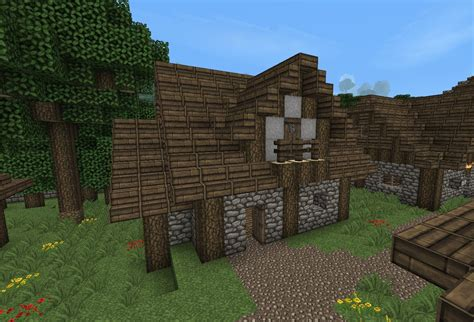 1 7 Old Medieval House Download Minecraft Project