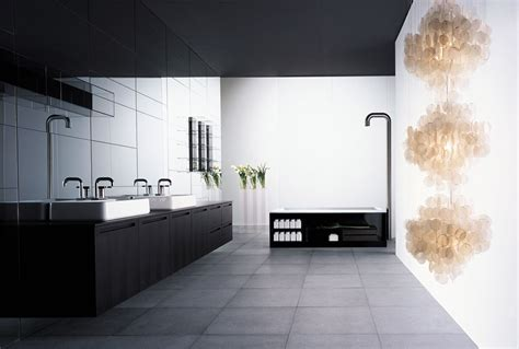 bathroom contemporary very big bathroom inspirations from boffi digsdigs