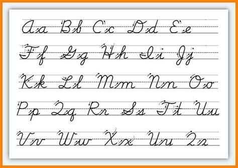 5 cursive worksheet thin today