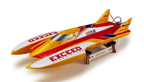 nitro rc hydroplane boats exceed racing red evo hydro boat electric powered