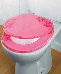 pink toilet seat uk pink flowers toilet seat review compare prices buy