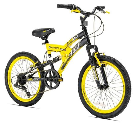 avigo motocross bike boys 20 inch avigo air flex dual suspension bike toys quot r quot us