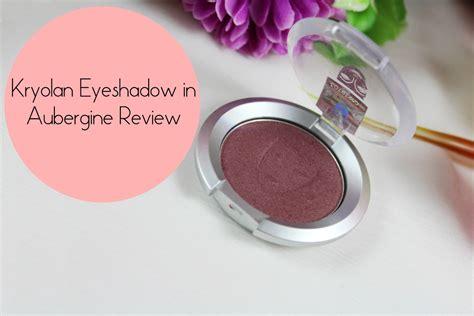 Eyeshadow Kryolan kryolan single eyeshadow in aubergine review and swatch