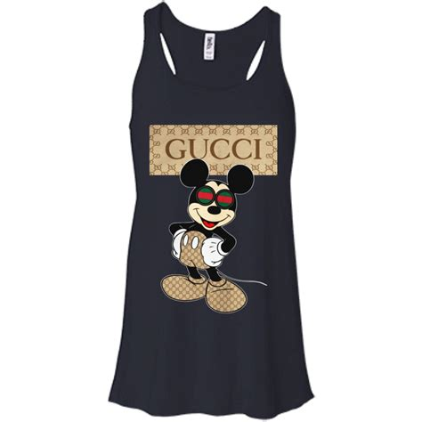 Mickey Hoodie Stripe disney mickey gucci shirt hoodie tank allbluetees