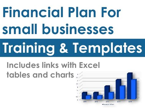 small business financial plan template financial plan and templates