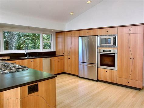 bamboo kitchen cabinets bamboo kitchen cabinets pros and cons nucleus home