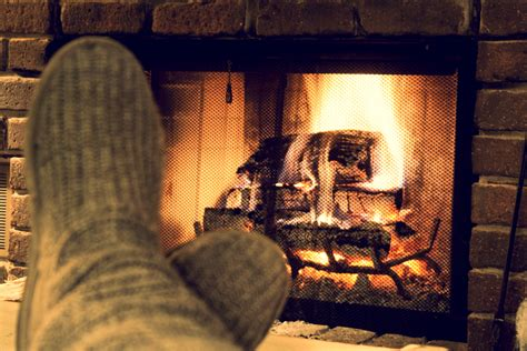 Fireplace Book by A Light Reading For The Holidays Writingkim