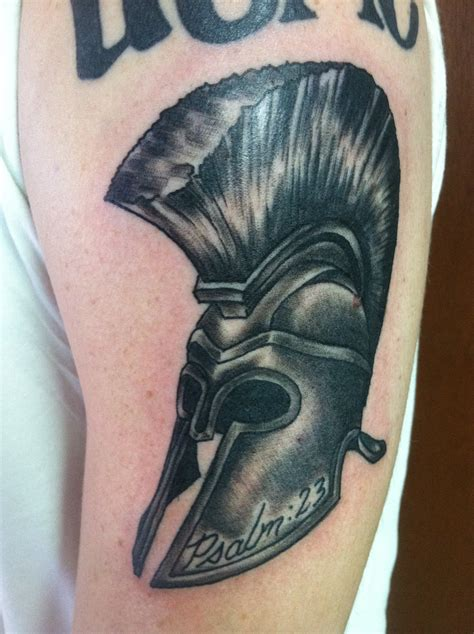 trojan helmet bayside tattoo traverse city tattoo shop
