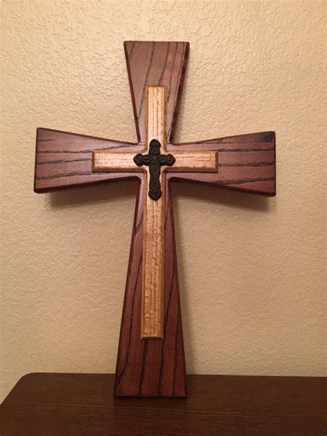 layer wooden cross  bnknhandmade  etsy wooden