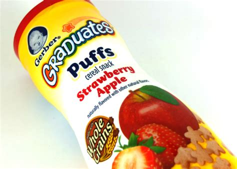 Gerber Graduates Puff By Susupedia review gerber graduates puffs strawberry apple yukcoba in