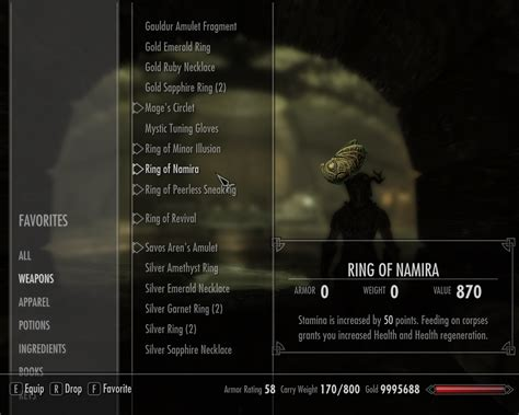 unlimited rings at skyrim nexus mods and community
