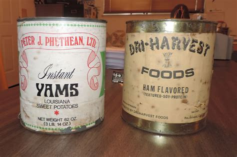 30 Year Shelf Food term food storage 30 year cans i opened todaypreparedness advice