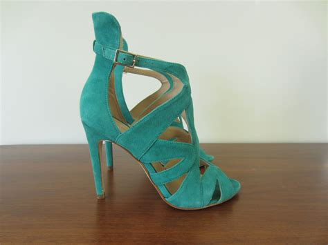 green high heel sandals zara green high heel sandals with box heels