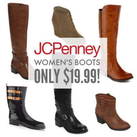 jcpenney womens boots sale jcpenney s boots sale as low as 19 99
