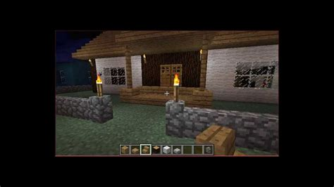casa de chantique casa de pobre do minecraft youtube