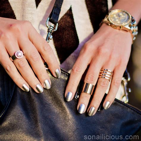 gold rings 15 chic ways to match them to your manicure