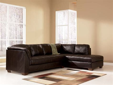 ashley furniture sectional couches harrington chocolate sectional sofa signature design by