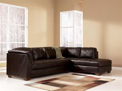 harrington chocolate sectional sofa signature design  ashley furniture