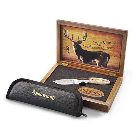 browning russ kommer browning 174 limited edition custom russ kommer knife