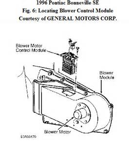 pontiac blower motor location get free image about wiring diagram