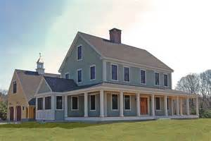 New England Farmhouse Plans new england farmhouse plan homes pinterest