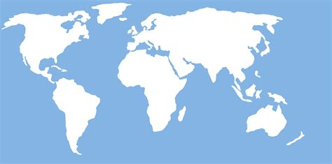 world map outline vector world map for wall free images at clker vector