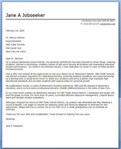 tutor cover letter exle 1000 ideas about cover letter on