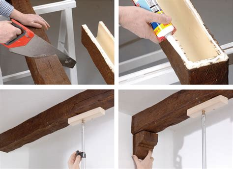 finte travi per soffitto travi finto legno come si installano e dove si comprano