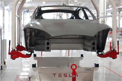 Tesla Logistics Tesla Car Factory Flickr
