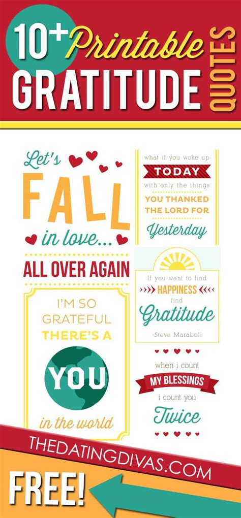 printable gratitude quotes love gratitude quotes like success