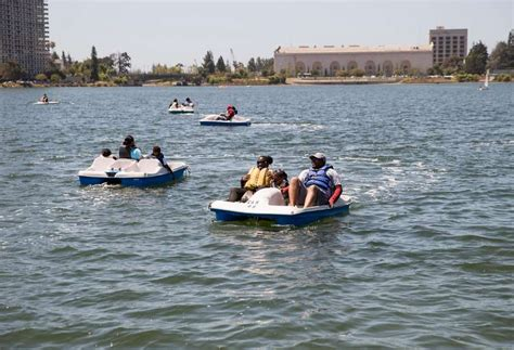 pedal boat oakland outdoor adventure beckons in oakland sfgate