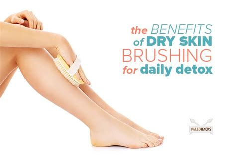 Brushing To Detox by The Benefits Of Skin Brushing For Daily Detox Paleohacks