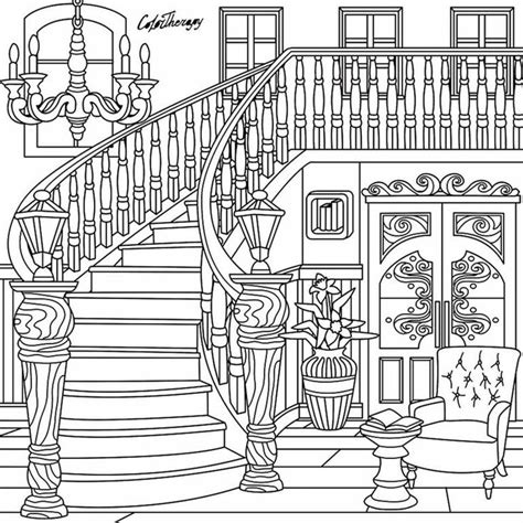 coloring pages for adults architecture 367 best architecture coloring pages for adults images on