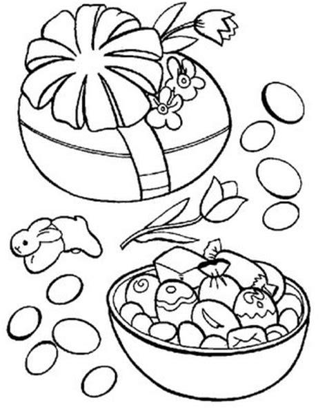 Desenhos De Ovos De Páscoa Para Imprimir e Colorir