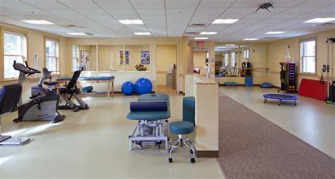 therapy room rehabilitation clinic walenstadtberg intermed yarmouth me wright ryan construction