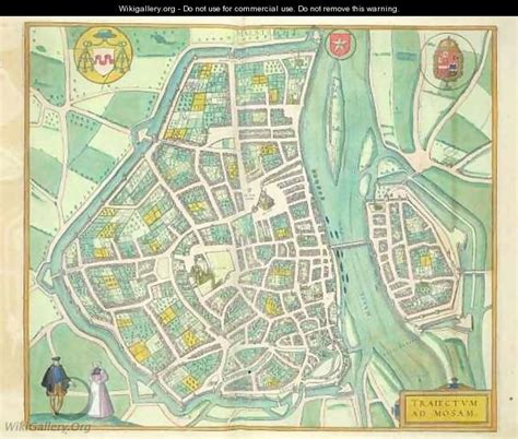 copyright free maps for commercial use map of maastricht from civitates orbis terrarum after