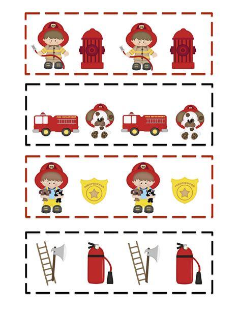 Blank Firefighter Card Template by Preschool Printables Fireman Community Helpers Snacks