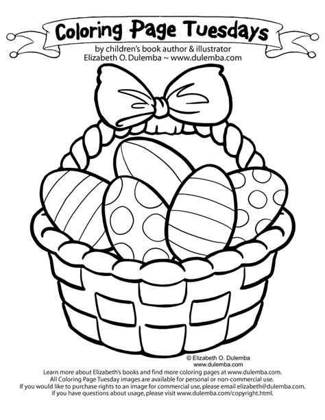 free of easter eggs coloring pages