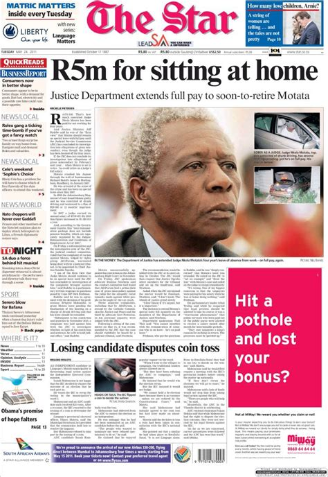africa news news and headlines from south africa egypt newspaper the star south africa newspapers in south