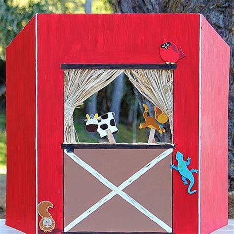 Handmade Puppet Theatre - create celebrate explore craft supplies